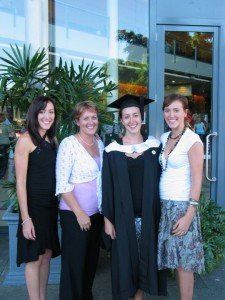 Me, Mum, Laura and Auds
